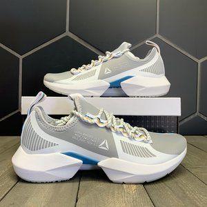 Womens Reebok Sole Fury Grey White Running Sneaker
